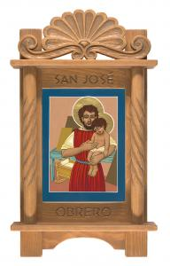 Retablo de San Jose Obrero- Retablo of St Joseph the Worker